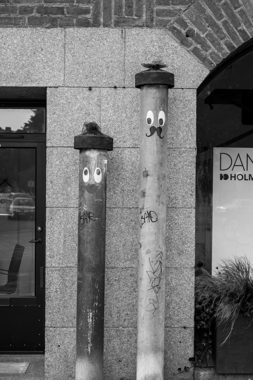 Pipes with faces (Stockholm)
