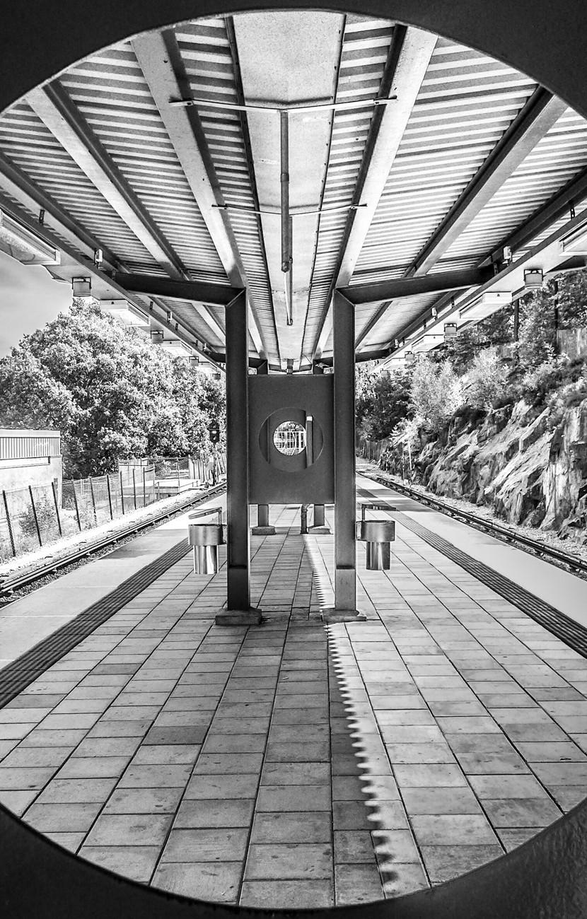 Abrahamsberg Subway Station