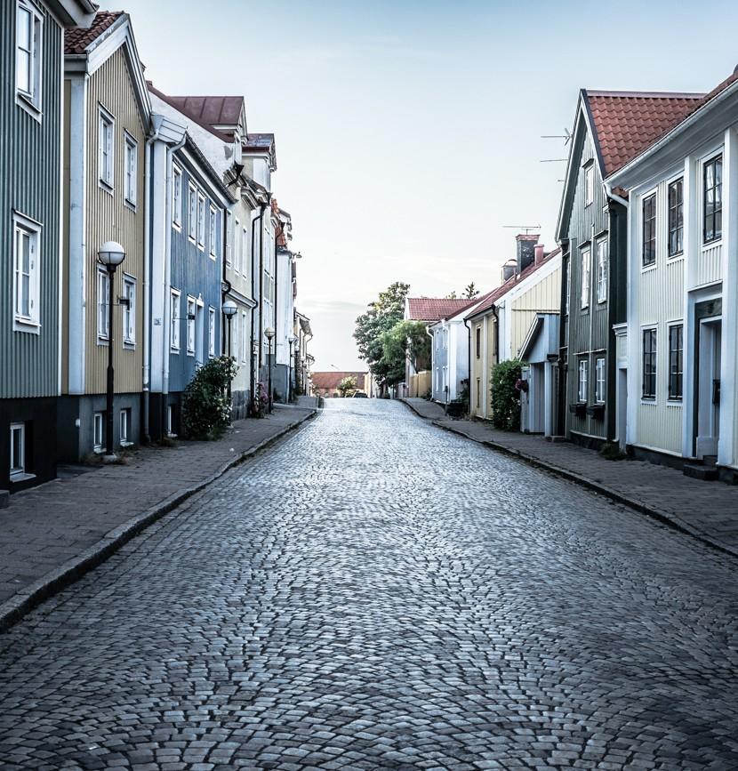 Västervik in the summer