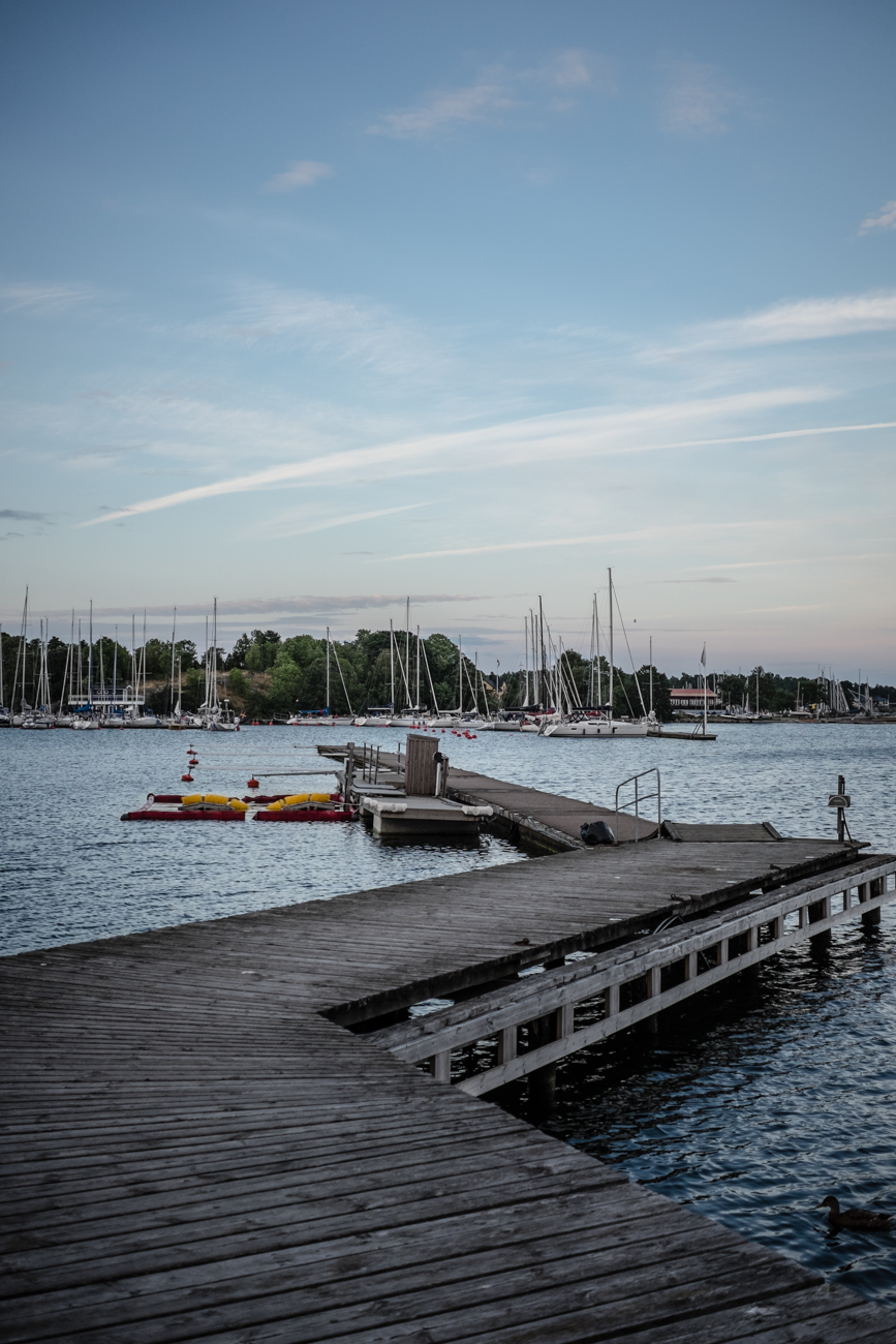 Västervik in the summer