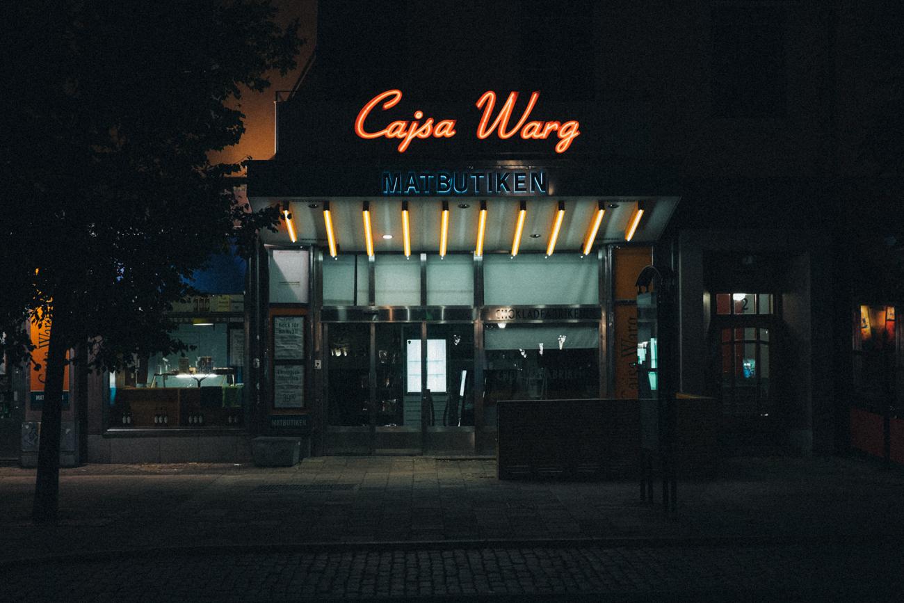 Cajsa Warg, Odengatan Stockholm
