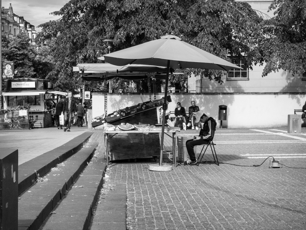Leica digilux 2 at Odengatan - Per Pettersson